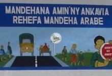 La construction de bâtiments scolaires a été accompagnée d\'actions de sensibilisation sur la sécurité routière.