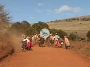 Appropriation de la route par les bénéficiaires : travaux communautaires