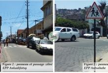 Visibilité sécurité routière des élèves au niveau des écoles.